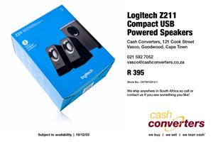 Logitech Z211 Compact USB Powered Speakers for sale  Parow