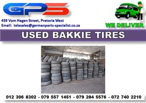 Used Bakkie Tires for Sale