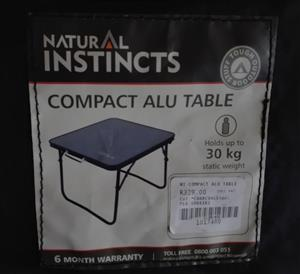 Camping tables