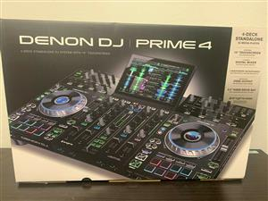Denon Prime 4 Unboxed with warranty