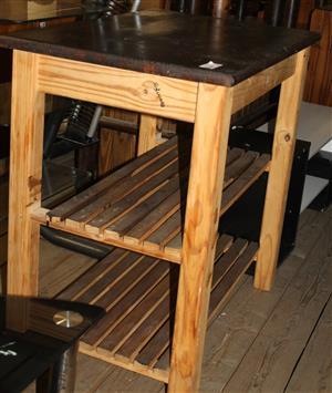 Wooden table S030045B #Rosettenvillepawnshop