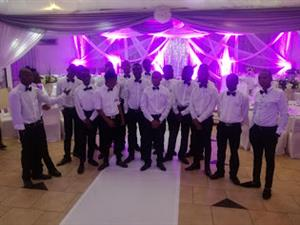 WAITERS/BARTENDERS/CHEFS AND SECURITY