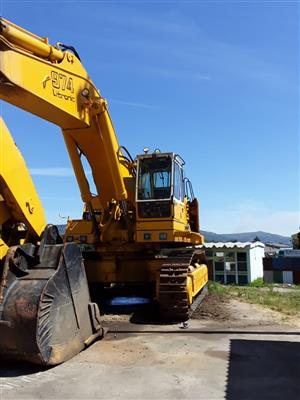 Liebherr 974 Excavator