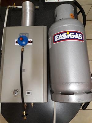 Gas Geyser