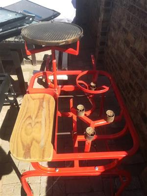 RED BRAAI FOR SALE