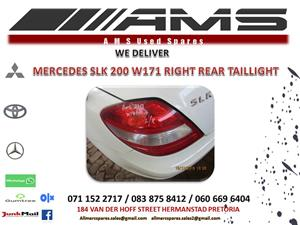 MERCEDES SLK 200 W171 RIGHT REAR TAILLIGHT