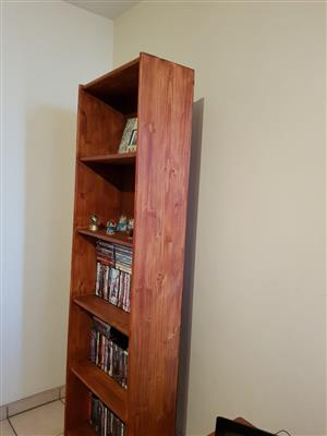 Five tier bookshelf for sale as new
