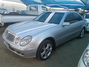 2006 Mercedes Benz E Class E280 Elegance