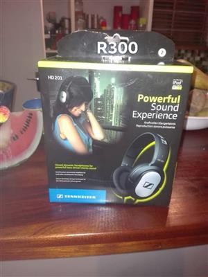 Headphones in box for sale