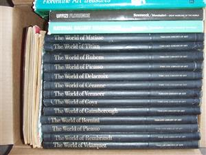 Famous Artists - A collection of 17 books - including Picaso and Goya