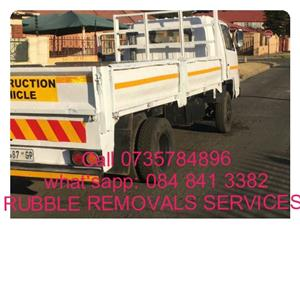 !!!!!Quick Quick Rubble Removal Services and many more: Call 073 578 4896