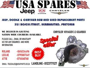 CHRYSLER GRAND VOYAGER 3.3 GEARBOX (FOR SALE)