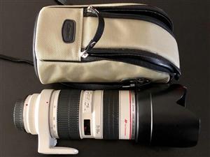Canon EF 70-200, f:2,8 L