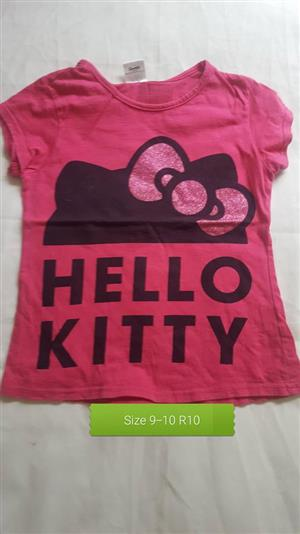 Pink hello kitty shirt for sale