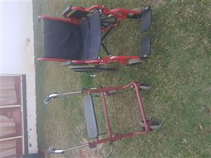 Wheelchair and walking ring - R4500 for both or you can phone for individual price