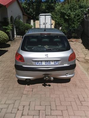 2006 Peugeot 206 1.6 SW XS