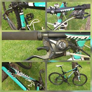 Titan Cruz - Men's bicycle - Medium with Shimano Gears For Sale. Montanapark. Make an offer or Whatsapp to 0796703096
