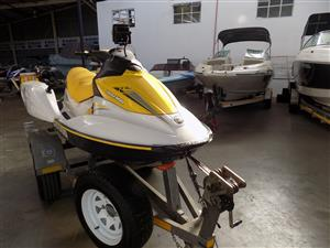 Seadoo gti 130 on trailer 287 hours