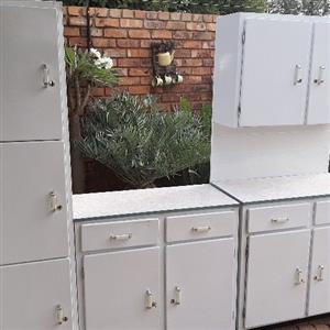 Steel 3pc kitchen unit
