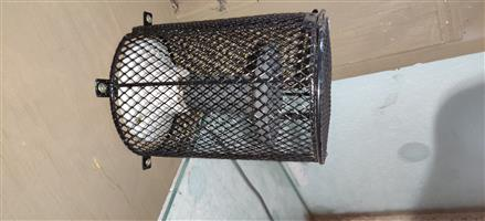 Almost new Ceramic heater, Heat guard and ceramic socket