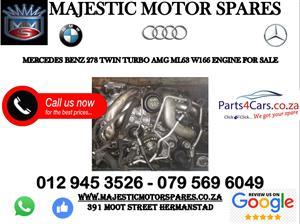 Mercedes benz AMG M278 engine for sale