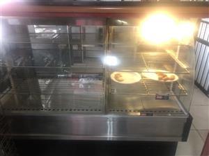 Combination Pie & Cooler Display