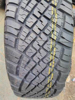 New General Grabler A/T 255/60/R18 tyres  and Isuzu {set of 4} R11500.