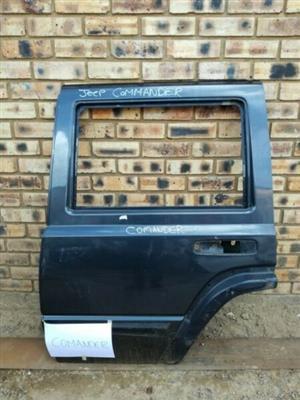 Jeep Commander Left Rear Door  Contact for Price
