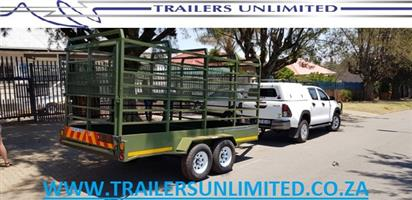 4500 X 1800 X 1800 CATTLE TRAILER. DOUBLE DECK. REMOVABLE. DOUBLE AXLE 3500KG GVM.