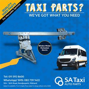 Electric Window Winder Mechanism for Mercedes Sprinter - SA Taxi Auto Parts quality used spares