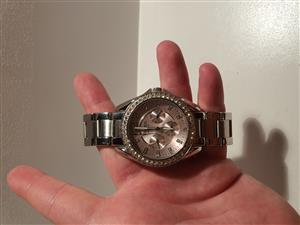 Stylish Ladies Fossil Watch Great Condition!!!