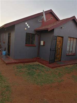 I'm renting out my 3 bedroom house in east field Ext 6 very neat and needed someone to take care