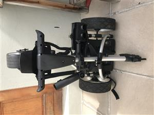 Jetrunner Electric Golf Trolley with Lightweight Lithium Battery