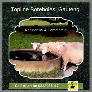 Residential and Commercial water borehole service in Gauteng