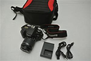 Canon EOS 760D 24MP 18-55 STM Lens