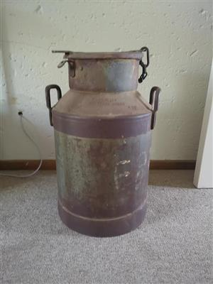 Rusted can with handles for sale