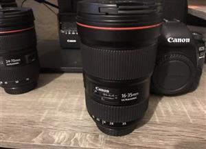 Canon 5d mark iv dual lens