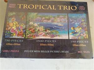 Tropical trio game for sale
