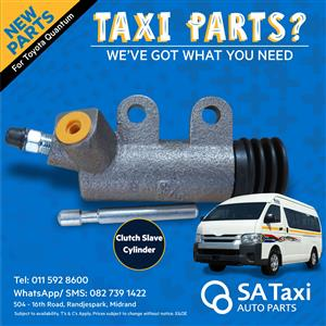 NEW Clutch Slave Cylinder suitable for Toyota Quantum - SA Taxi Auto Parts quality taxi spares