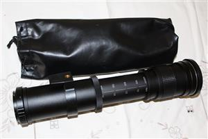 KELDA 420 - 800mm SUPER TELEPHOTO ZOOM LENS