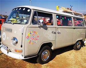 Vintage car hire: Matric Farewell and Wedding Car Hire- Kombi Hippy style.