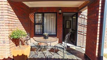 Three bedroom duplex townhouse in a small well maintained security complex.