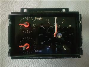 Oven Analog clock