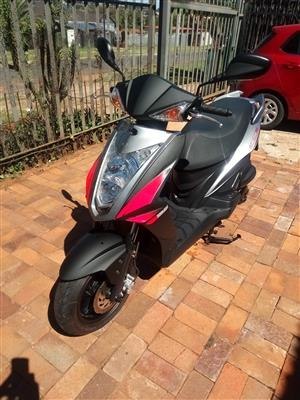 Scooter to swop