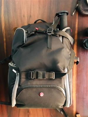 Manfrotto Backpack & Monopod