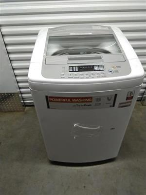 LG 16kgs washing machine top loader...