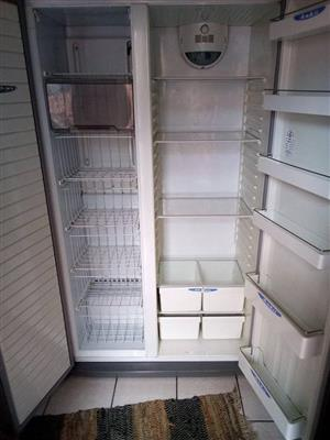 Double door Defy Fridge Freezer side by side F690
