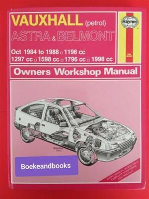 Vauxhall ( Petrol) - Astra & Belmont - Owners Workshop Manual - Haynes - 1136.