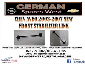 CHEV AVEO 2003 - 2007 NEW FRONT STABILIZER LINK FOR SALE