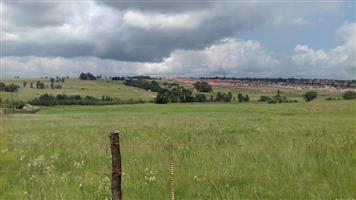 This 5,2989 Ha in Naauwpoort have ideal develop potential near Witbank.